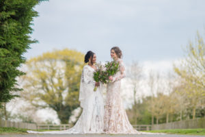 Beautiful boho wedding at Applewood Hall