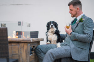 Dog friendly weddings at Applewood Hall