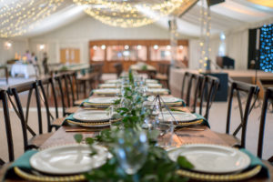 Wedding reception at Applewood Hall