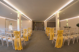 Civil Ceremonies in the Orchard Room at Applewood Hall