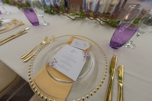 Enchanted Spring Table Setting at Applewood Hall