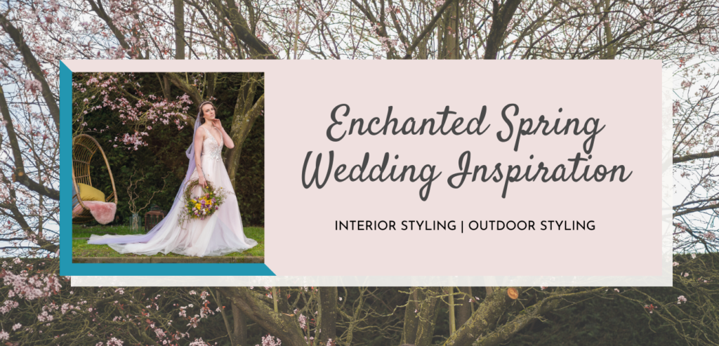 Enchanted Spring Wedding Inspiration Indoor and Outdoor Styling
