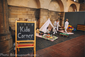 Kids Corner Wedding Reception