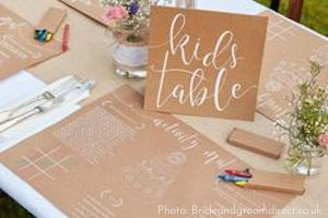 Kids Table at Applewood Hall