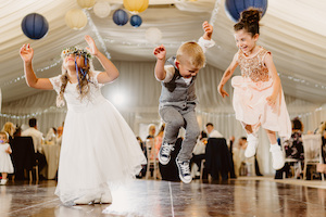 Kids on the Dance floor at Applewood Hall