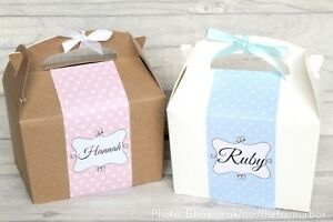 Personalised Children's Favour Box