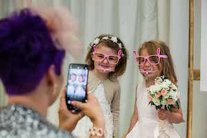 Wedding Photobooth for Kids