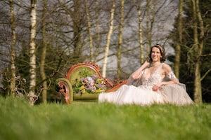 Outdoor Wedding Photos at Applewood Hall