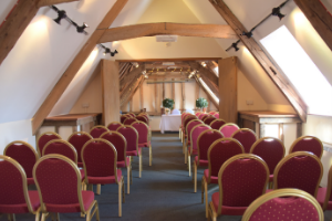 Traditional oak beamed barn for your wedding ceremony