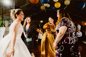 How to set the mood to get the party started at your wedding reception