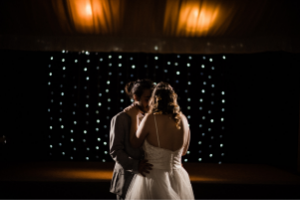 Romantic lighting for your wedding reception